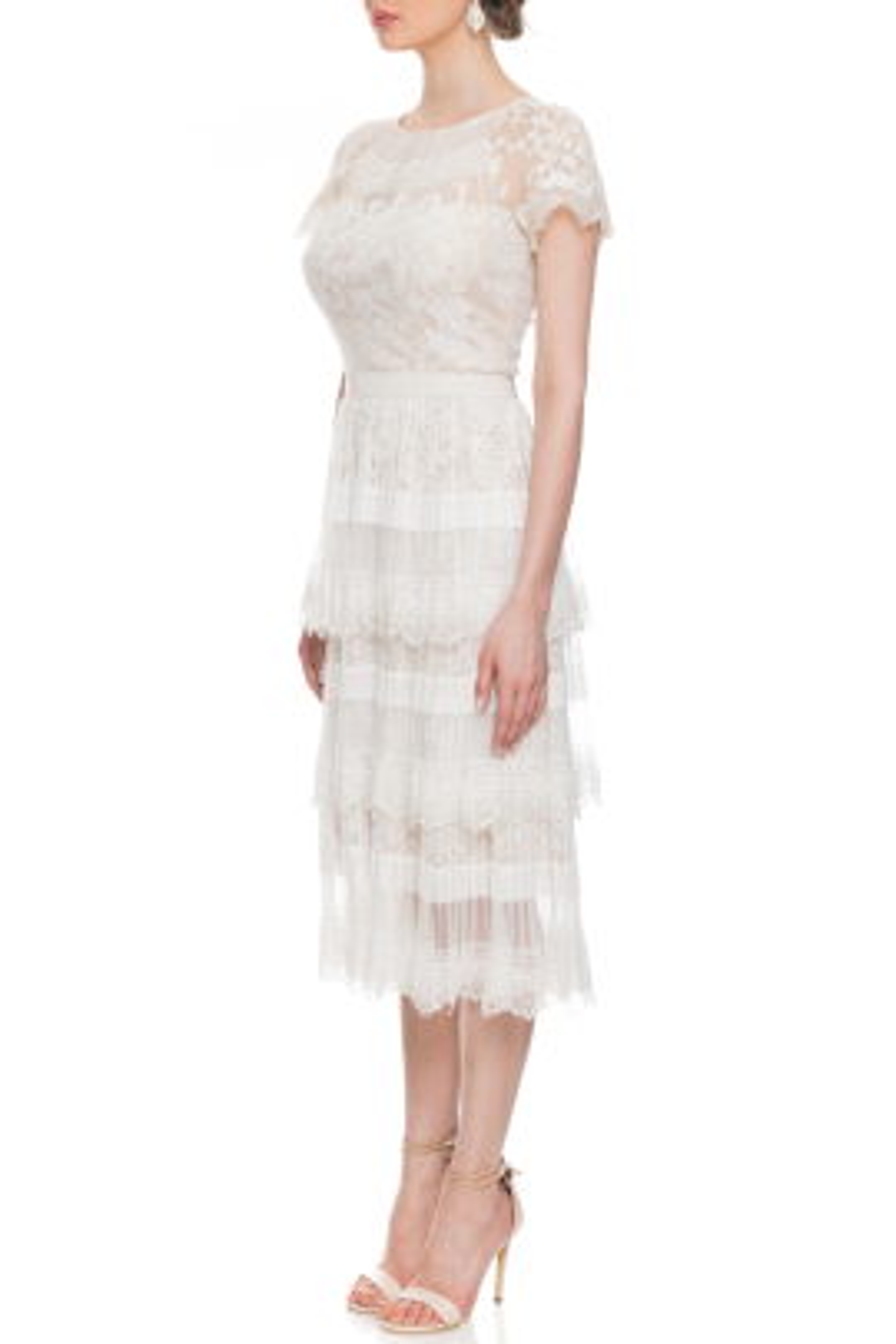 Nixie Beyaz Elbise