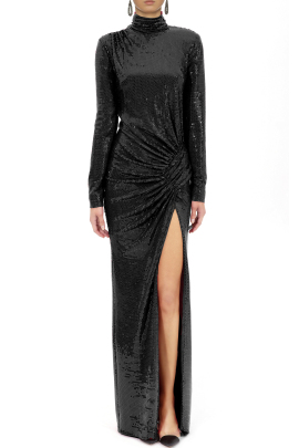 Josephine Siyah Elbise