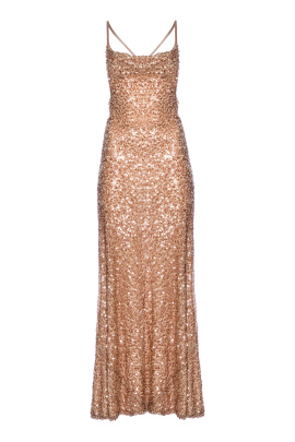 Paillette Whiteley Bronz Dress