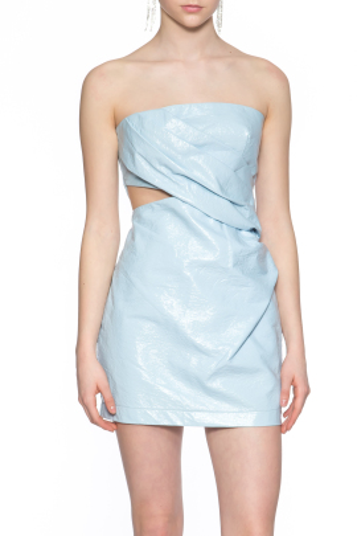 Finn Mavi Mini Elbise