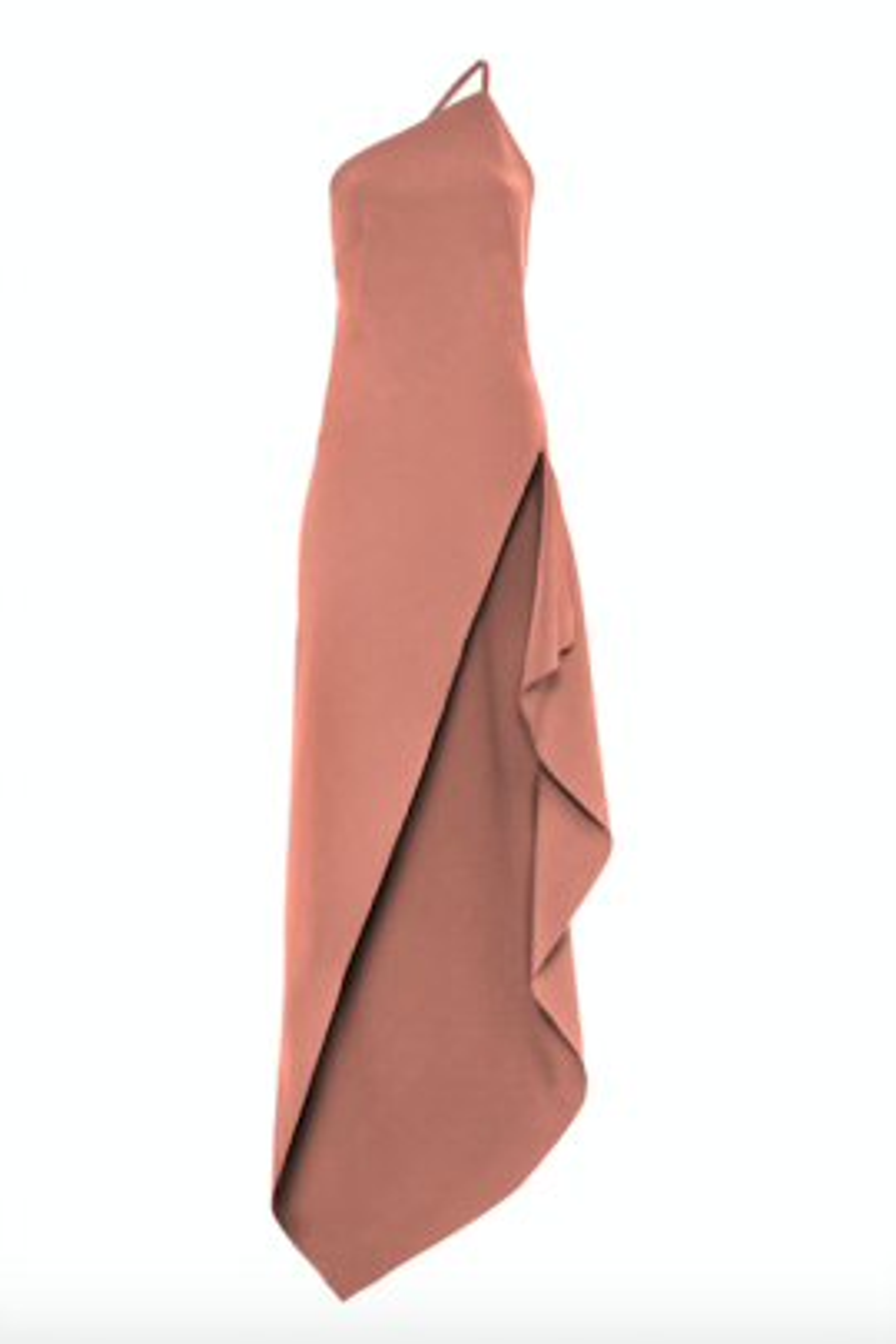 Lina Pudra Midi Elbise