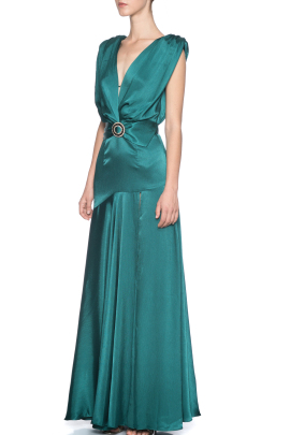 Romi Emerald Gece Elbisesi