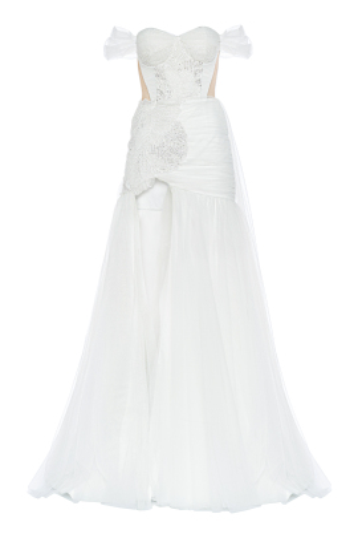 Ashlie Beyaz Elbise