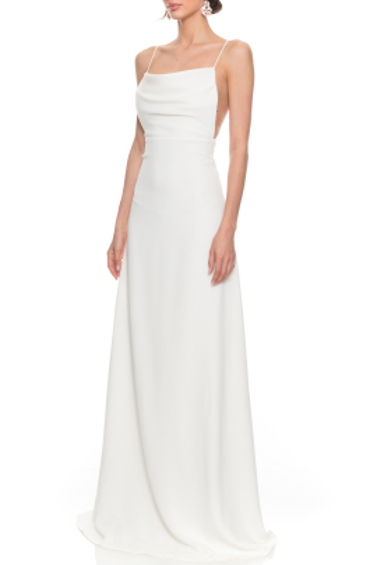 Marilyn Beyaz Elbise