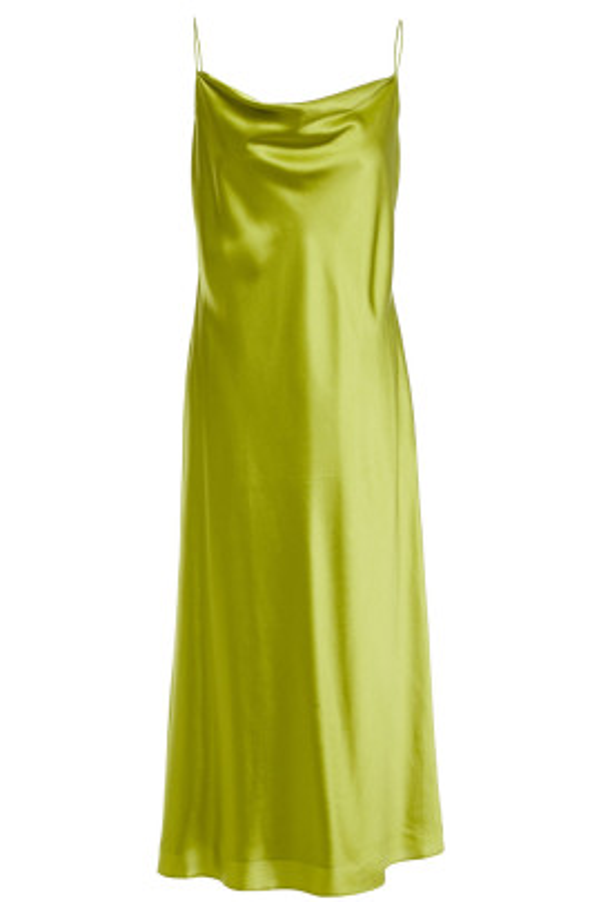 Lime Askılı Elbise