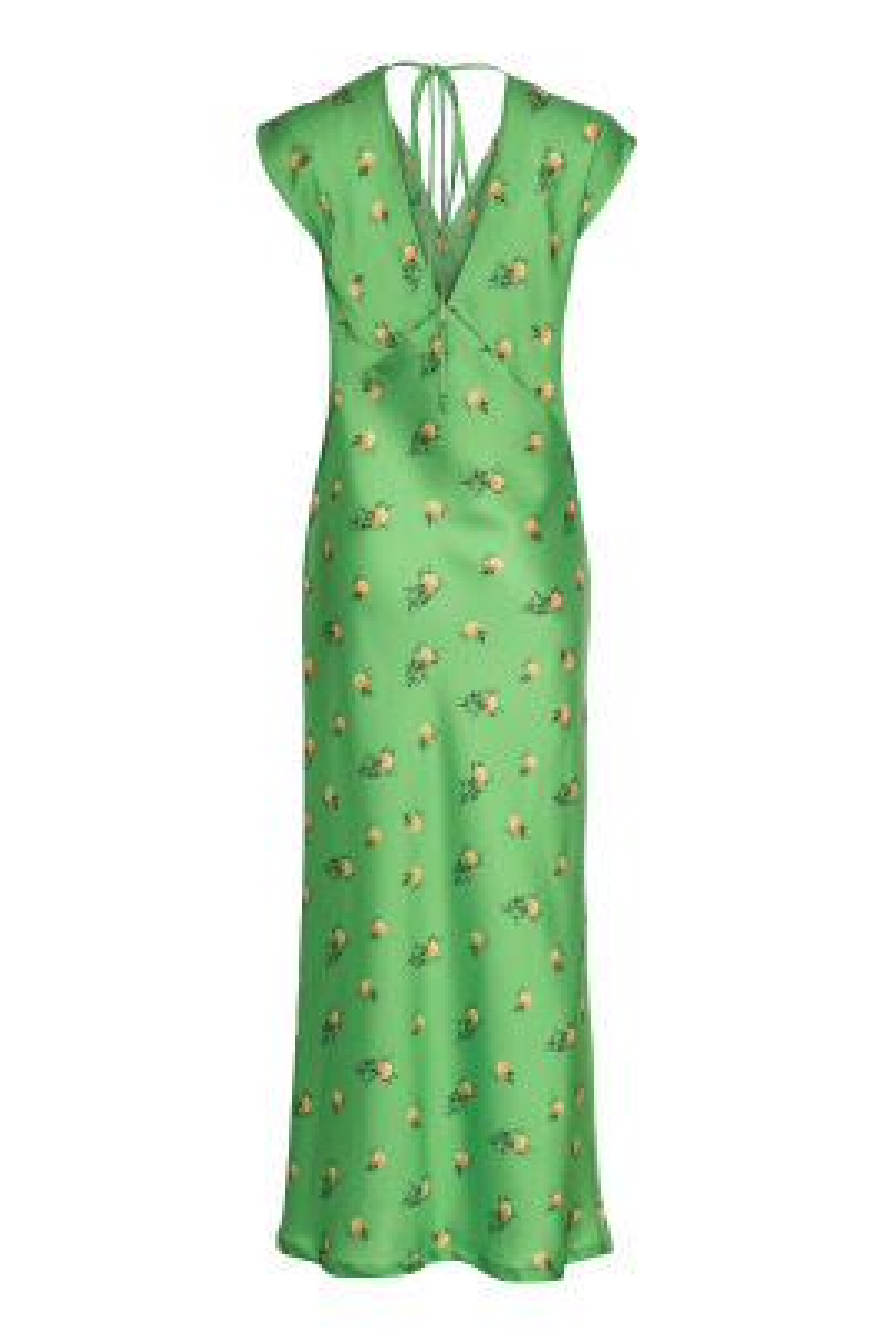 Çiçek Desen Baskılı Elbise