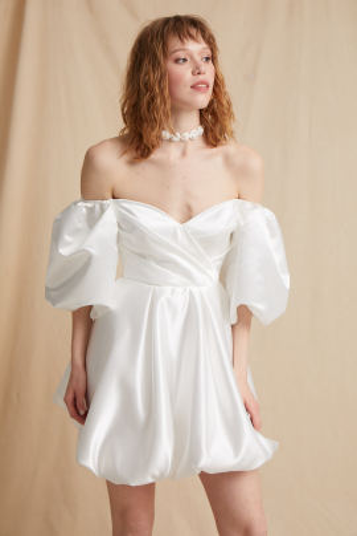 Bloom Beyaz Elbise