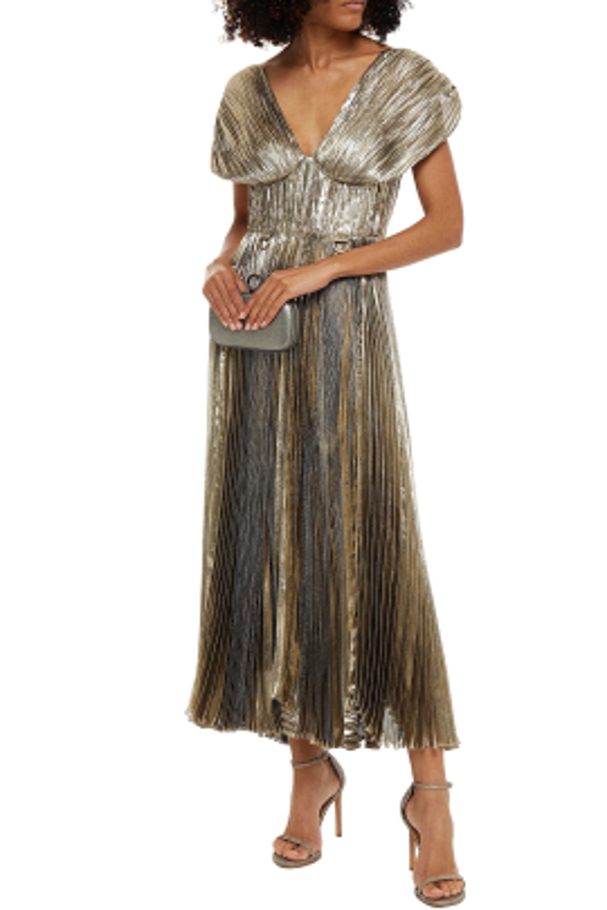 Soruna Metallik Elbise